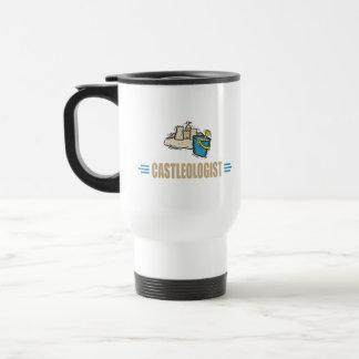 Castillo divertido tazas de café