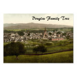 Castillo Douglas, Dumfries y Galloway, Escocia Tarjeta De Visita