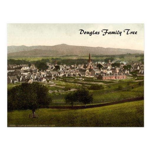 Castillo Douglas, Dumfries y Galloway, Escocia Postal