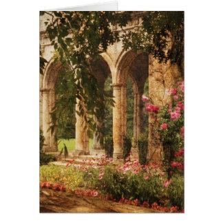 Castillo - el jardín secreto tarjeton