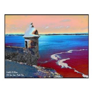 Castillo El Morro -1 Postcard