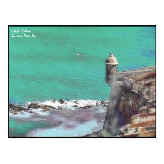 Castillo El Morro -2 Postcard