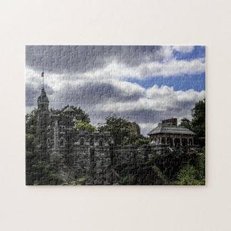 Castillo en Central Park, foto del belvedere de Puzzles Con Fotos