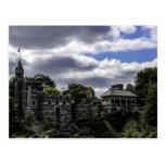 Castillo en Central Park, Nueva York del belvedere Tarjetas Postales