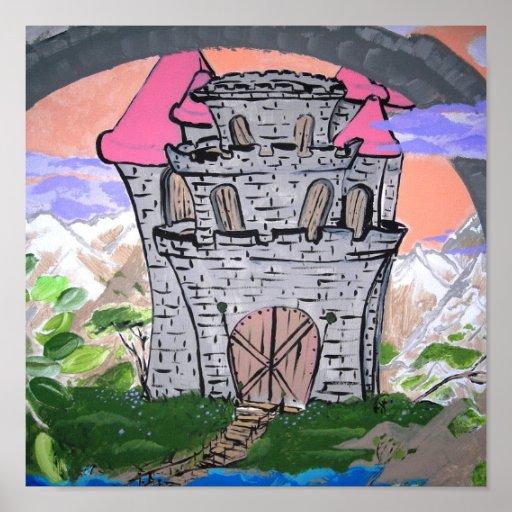 Castillo en el cielo posters