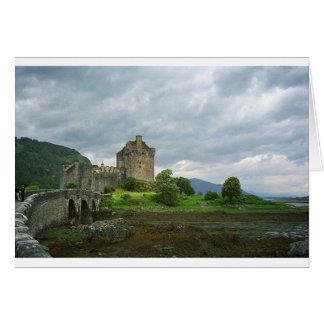 Castillo en Escocia Tarjeta De Felicitación