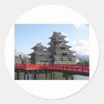 Castillo en Japón Pegatina