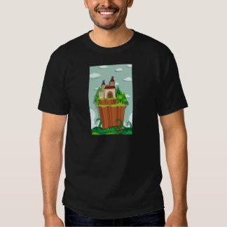 Castillo en la isla camisas