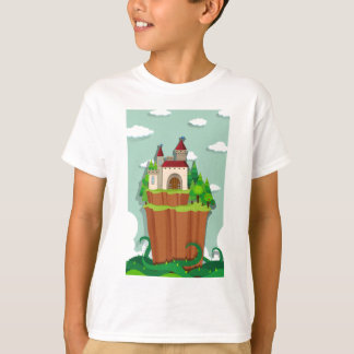 Castillo en la isla remera