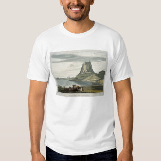 Castillo en la isla santa, Northumberland, 'de un Remeras