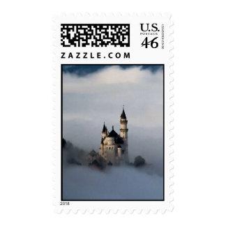 Castillo en los sellos de las nubes