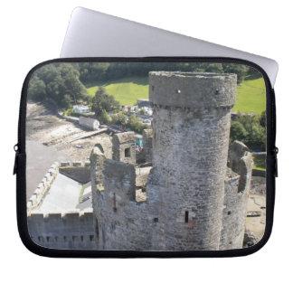 Castillo en País de Gales Funda Computadora