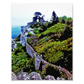 Castillo en Sintra Portugal Fotos
