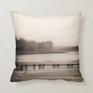 Castillo escocés pequenito almohadas