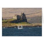 Castillo Escocia de Duart Tarjetón