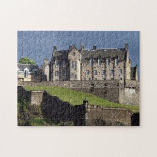 castillo Escocia de Edimburgo Rompecabeza