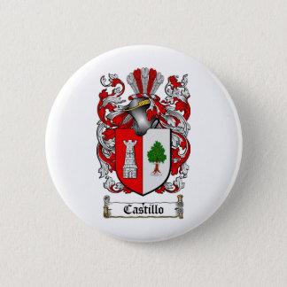 CASTILLO FAMILY CREST -  CASTILLO COAT OF ARMS BUTTON