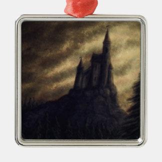 castillo fantasmagórico Halloween Ornamento Para Arbol De Navidad