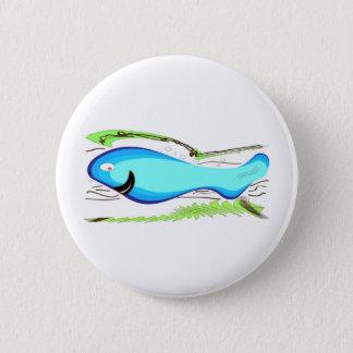 Castillo Fish Gran Canaria Pinback Button