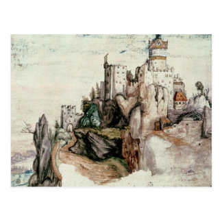 Castillo fortificado postal