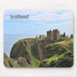 Castillo fotográfico Mousepad de Escocia Tapetes De Ratones