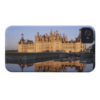Castillo francés Chambord, el valle del Loira, Case-Mate iPhone 4 Protectores