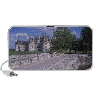 Castillo francés Chambord, el valle del Loira, Fra Portátil Altavoz
