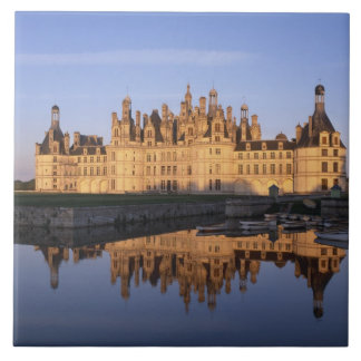 Castillo francés Chambord, el valle del Loira, Fra Teja Ceramica