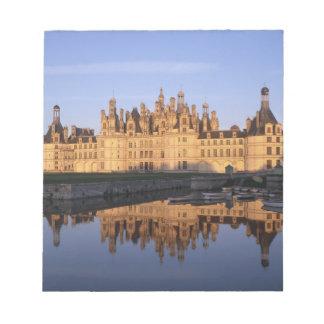 Castillo francés Chambord, el valle del Loira, Fra Bloc De Papel