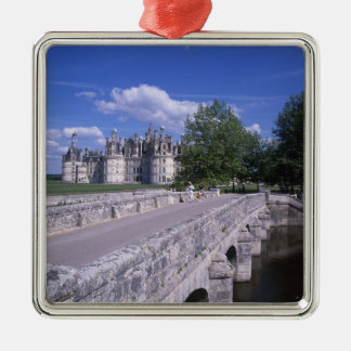Castillo francés Chambord, el valle del Loira, Fra Adorno De Reyes