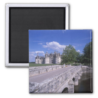 Castillo francés Chambord, el valle del Loira, Fra Imán Para Frigorífico