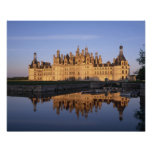 Castillo francés Chambord, el valle del Loira, Fra Posters