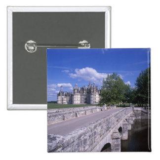 Castillo francés Chambord, el valle del Loira, Fra Pins