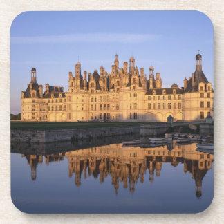 Castillo francés Chambord, el valle del Loira, Fra Posavasos De Bebidas