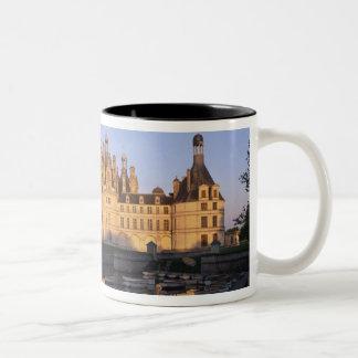 Castillo francés Chambord, el valle del Loira, Fra Tazas