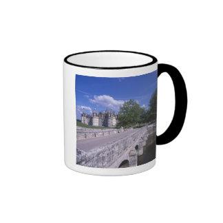 Castillo francés Chambord, el valle del Loira, Fra Taza De Café