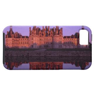 Castillo francés Chambord en la puesta del sol, el iPhone 5 Carcasa