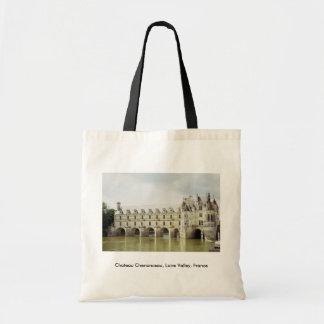Castillo francés Chenonceau el valle del Loira F Bolsas De Mano
