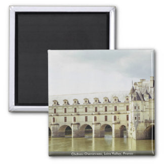 Castillo francés Chenonceau el valle del Loira F Iman