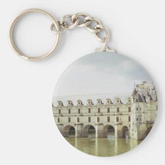 Castillo francés Chenonceau el valle del Loira F Llaveros Personalizados