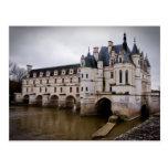 Castillo francés Chenonceau Postal
