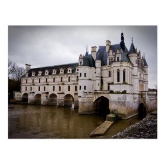Castillo francés Chenonceau Tarjetas Postales