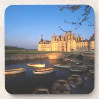 Castillo francés de Chambord, el valle del Loira,  Posavasos