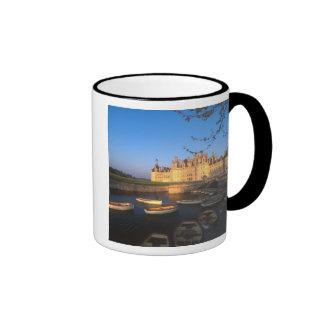 Castillo francés de Chambord, el valle del Loira, Taza De Dos Colores