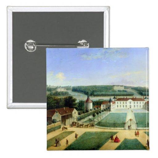 Castillo francés de Charles Guillaume Le Normant Pin Cuadrado