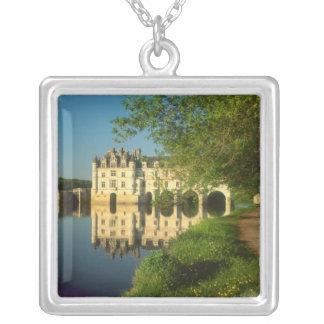 Castillo francés de Chenonceau el valle del Loira Pendientes Personalizados