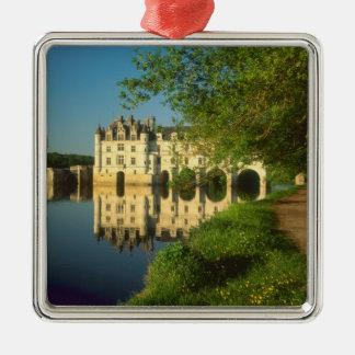 Castillo francés de Chenonceau el valle del Loira Ornamentos De Reyes