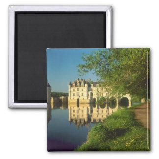Castillo francés de Chenonceau el valle del Loira Iman Para Frigorífico