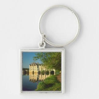 Castillo francés de Chenonceau el valle del Loira Llaveros Personalizados