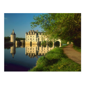 Castillo francés de Chenonceau el valle del Loira Postales